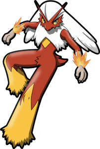 Blaziken transparent original. Pok dex stats moves