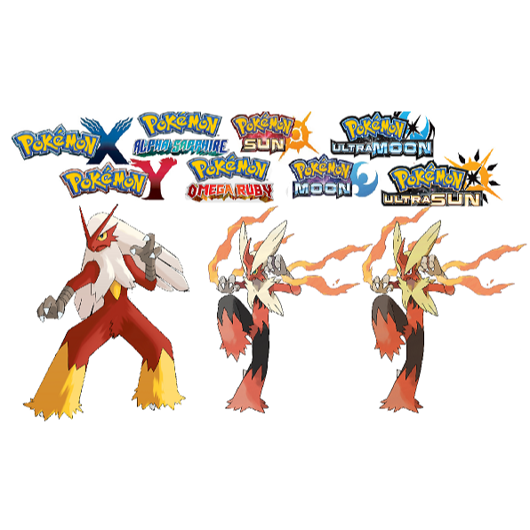 Blaziken transparent super. Shiny iv speed boost