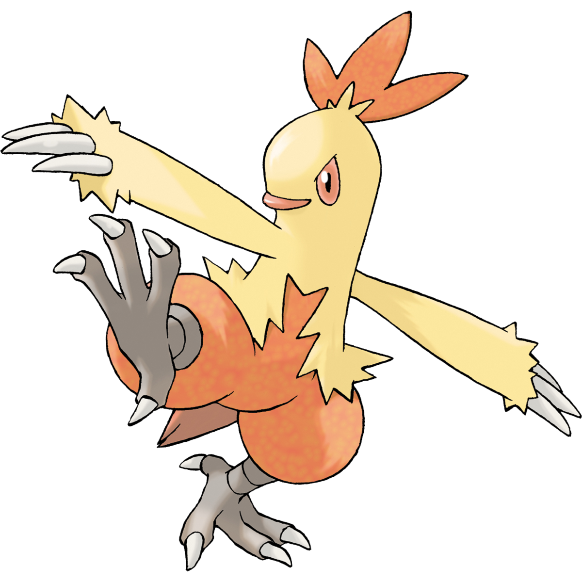 blaziken transparent pixelmon