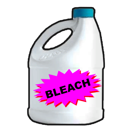 bleach bottle png