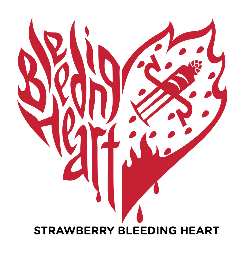 Bleeding heart png. Second self beer company