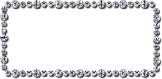 Bling border png. Rhinestone google search clipart