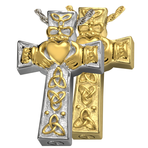 Bling cross png. Claddagh celtic spiritual cremation