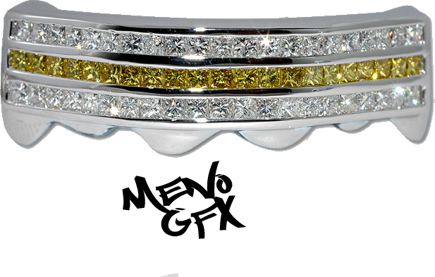 Bling grill png. Diamond psd official psds