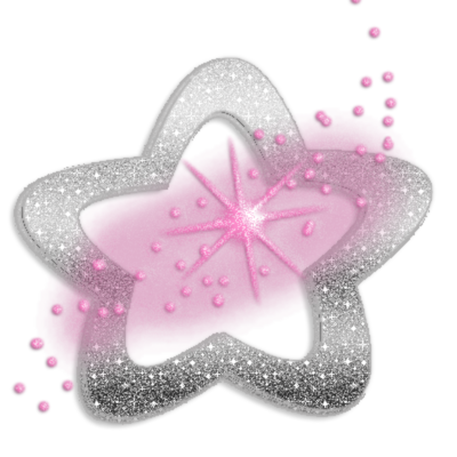 Glitter star png. By miralkhan on deviantart
