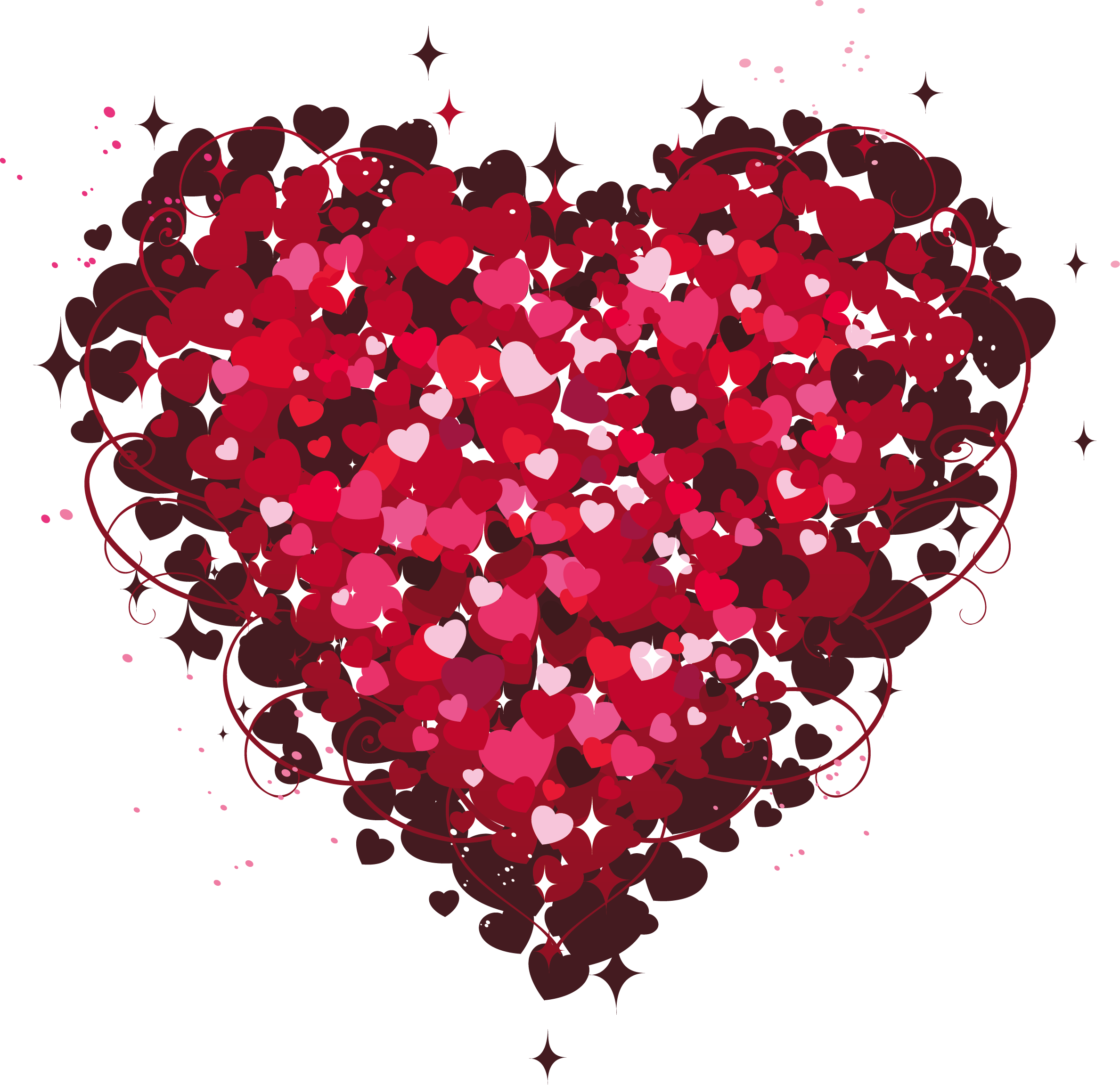 Love hearts png. Heart of clipart pinterest