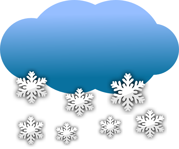 Vector wind snowy. Free snow cliparts download