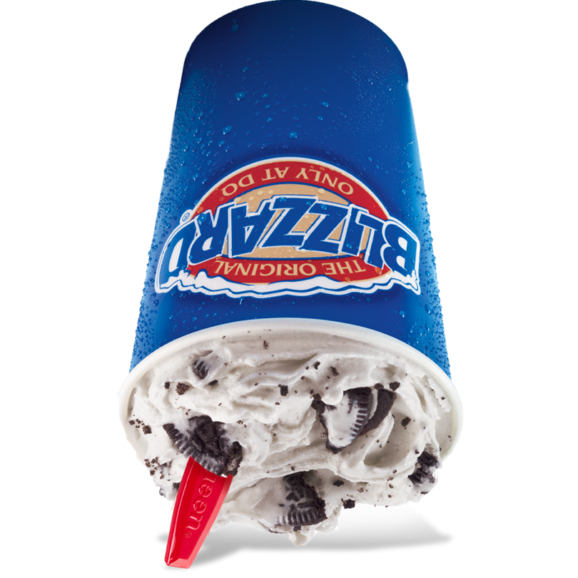 blizzard transparent cookie oreo