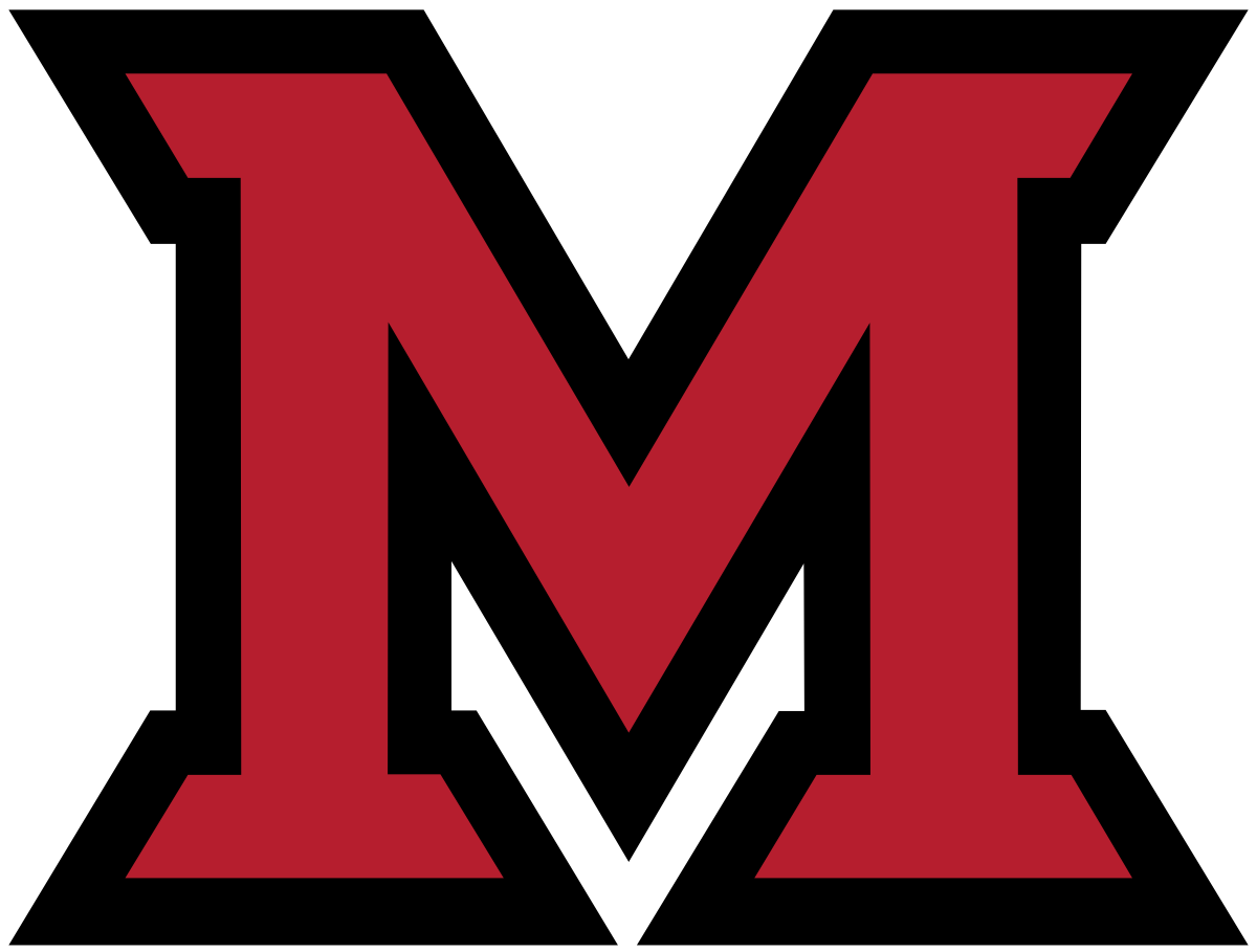 Vector ohio red. Miami redhawks baseball wikipedia