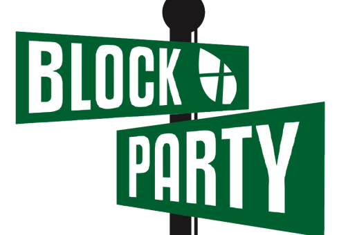 Block party png. First baptist church