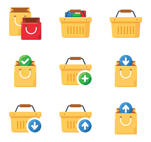 Block vector psd. Icon packs for