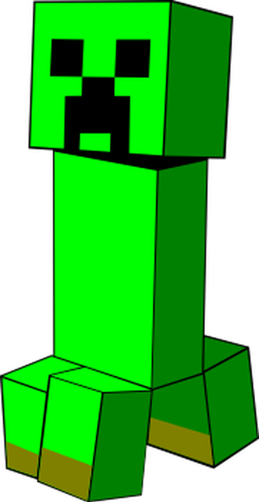 Minecraft creeper head png. A from boom this