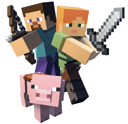 Minecraft png. Block transparent stickpng fighting