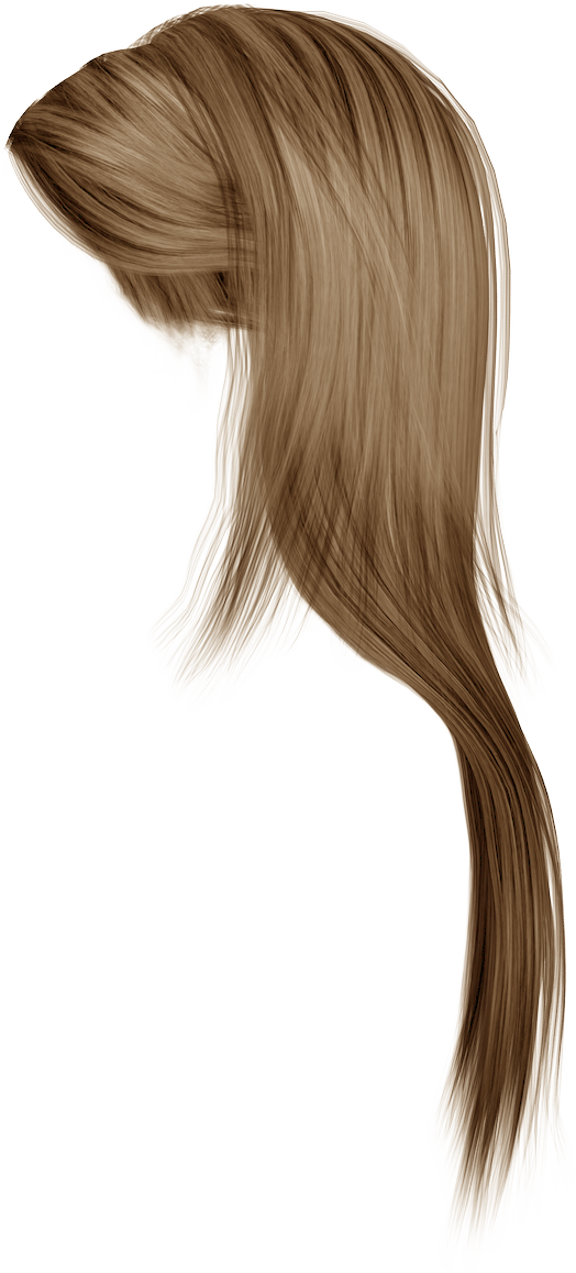 Wig clip layered. Hair png images women
