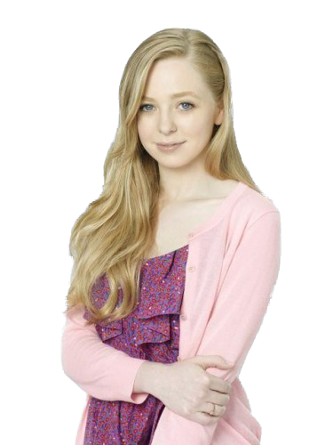 Blonde girl png. Portia doubleday render by