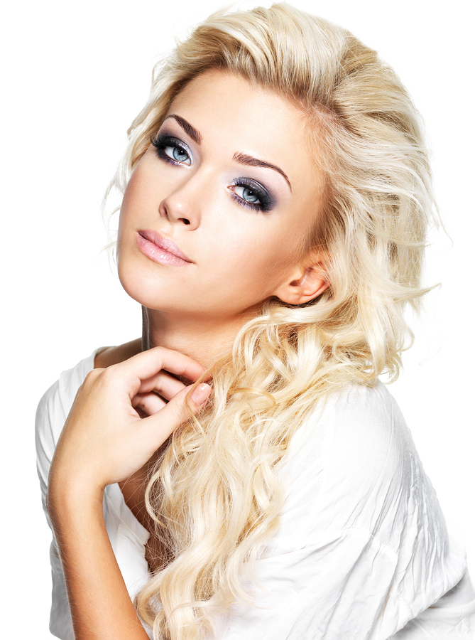 Blonde hair girl png. Transparent images all hd