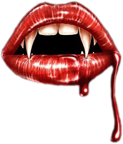 blood and fangs png