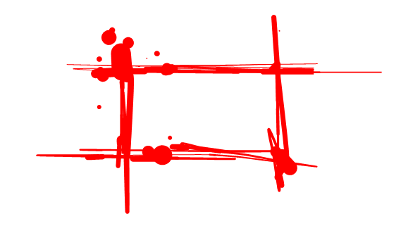 Blood border png.