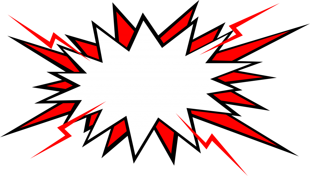 vector triangles explosion