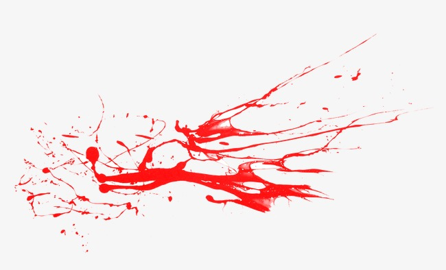 Blood clipart blood spill. Red bloodstain png image