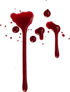 Blood clipart fake blood. How to make washable