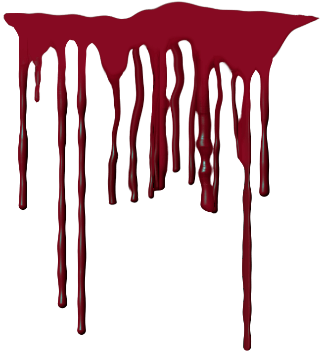 Blood drip png. Transparent stickpng