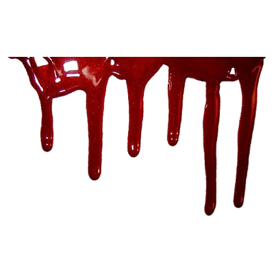 Blood drip png. Transparent stickpng drop