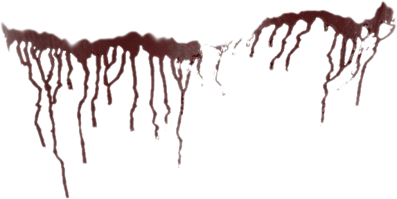 Blood drip vampire png. Splatter by da joint