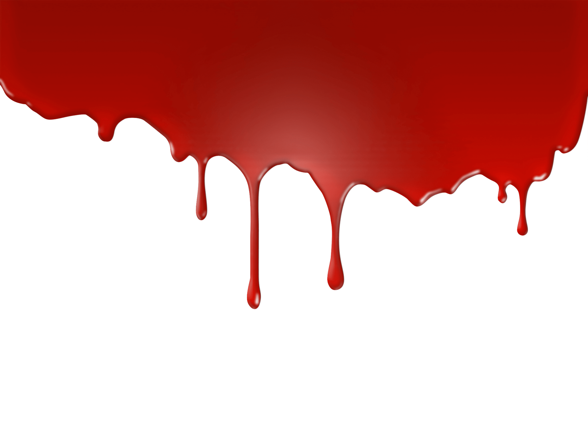 Red drip png. Halloween party band blood