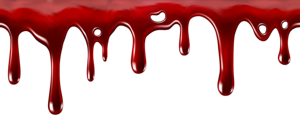 Blood drips png. Dripping decor transparent clip