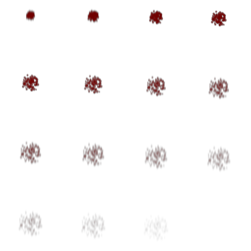 red particles png