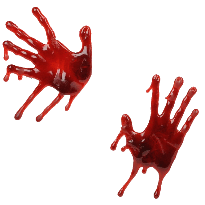 Blood hands png. Images free download splashes