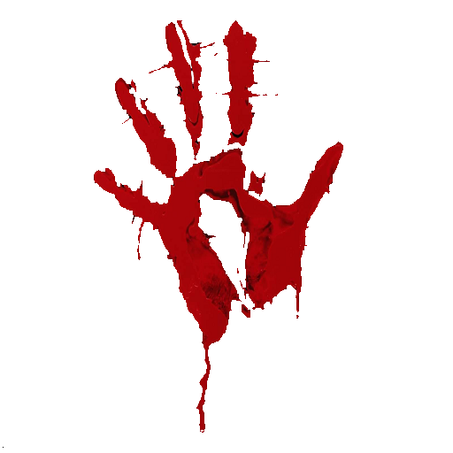 Blood Hands Transparent & PNG Clipart Free Download - YA-webdesign
