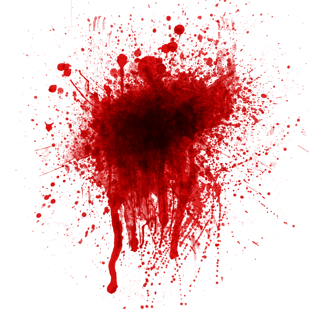 Blood hole png. Splat clipart
