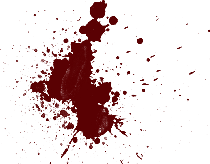 Blood stain png. Real coder