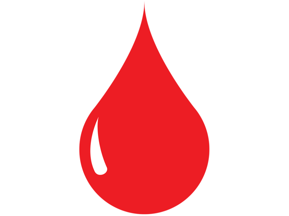 Drawing icons blood. Drop vector icon free
