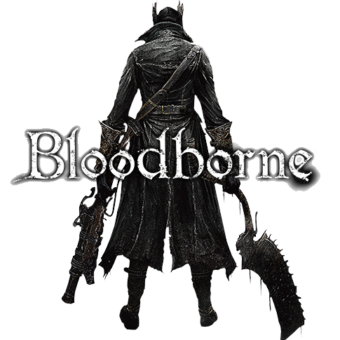 bloodborne transparent silver