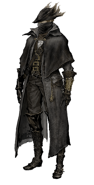 bloodborne transparent cleric