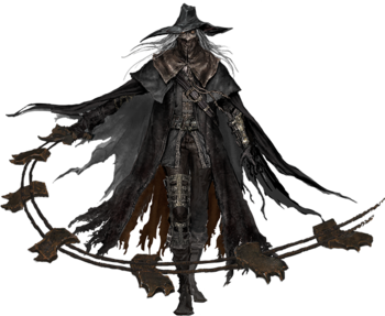 Bloodborne transparent blood hunter. Characters from the old