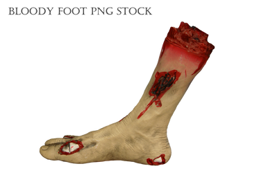 Bloody bone png. Creepy and strange by