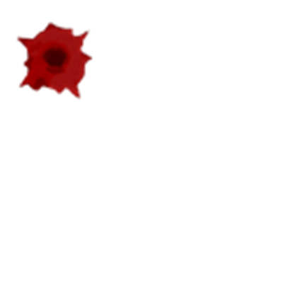 Bloody bullet hole png. Roblox