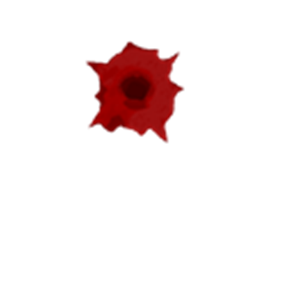 Transparent hole bloody. Bullet roblox