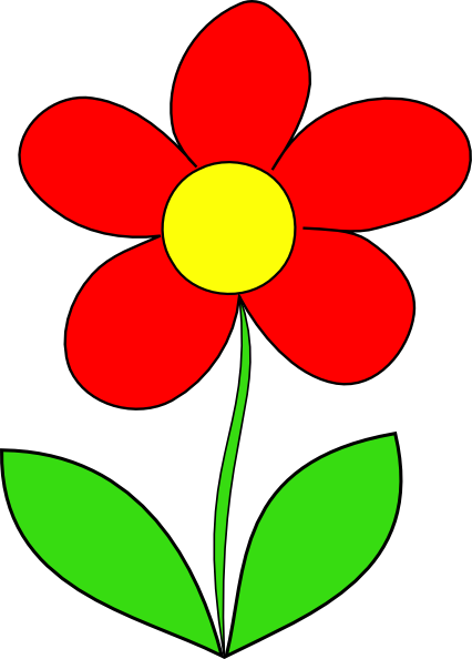 Blossom drawing clipart. Flower at getdrawings com