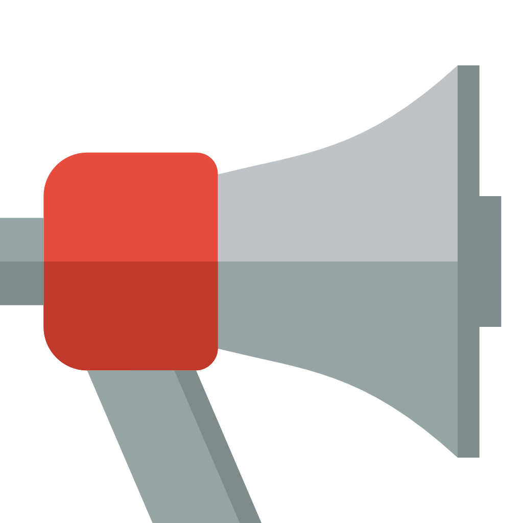 Megaphone images free download. Bull horn png clip art free library