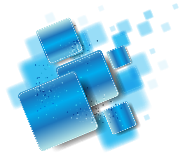Blue abstract png. Transparent free images only