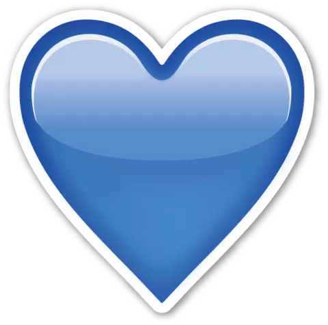 Blue aesthetic png. Image heart castaway s