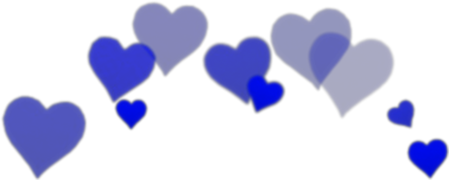 Blue aesthetic png. Blueheart bluehearts freetouse crown