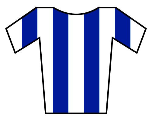 blue and white stripes png #66959689
