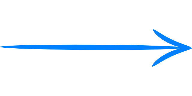 blue arrow png transparent