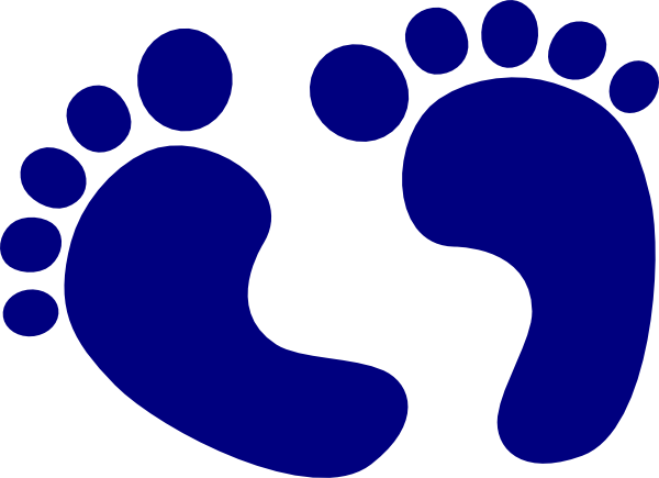 Blue baby feet png. Navy clip art at